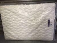 Double silentnight mattress new