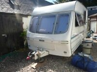 Lunar Meteor 13feet 2 berth touring caravan in excellent condition