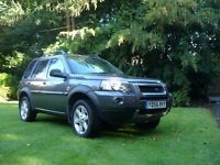 Landrover Freelander TD4 HSE. Low mileage for year, top spec Freelander with tow bar.