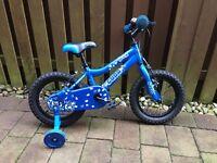 "Boys Cuda 14"" bike with stabilisers. Barely used."