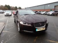 JAGUAR XF 2.2d [200] Premium Luxury 5dr Auto (red) 2014