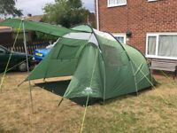 Trespass 5 Man Tunnel Tent. 2000mm Head. Good Clean Condition. All Kit