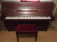 Yamaha Upright Piano e108 and stool - Excellent Condition - Super Good Value - £1500 ono - London