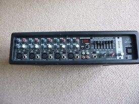 Behringer 300 Watt RMS mixer amp with digital effects