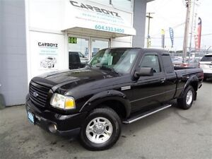 2009 Ford Ranger Sport 4.0L, Automatic, A/C, Tow Package