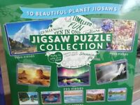 Collection of 10 jigsaw puzzles