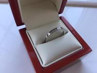 Stunning 18ct White Gold 10x Princess Cut Diamond Ring 0.33 carat - Engagement / Eternity