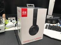 Black Beats Solo3 Wireless Headphones - Unopened, Sealed, Brand New!