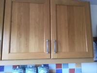 KITCHEN CABINETS WITH WOODEN DOORS