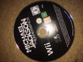 Micheal Jackson experience Wii game