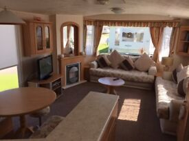 lovley private caravan for hire at happy days in towyn