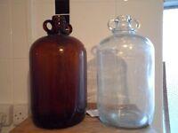 Demijohns for winemaking
