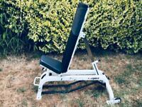 Heavy Duty Commercial Pro Flat Incline Gym Bench Used
