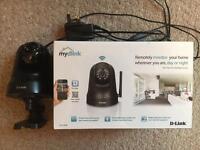 Two Mydlink Wi-Fi Pan&Tilt Day/Night Surveillance Cameras