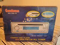 Goodmans Car CD Player GCE 7109 CD Player