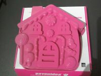 House silicone cake/chocolate mould
