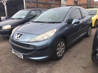 2006 (56) PEUGEOT 207 1.4 PETROL 3DR **LONG MOT TILL FEB 2019 + IDEAL FIRST CAR + P/X TO CLEAR**