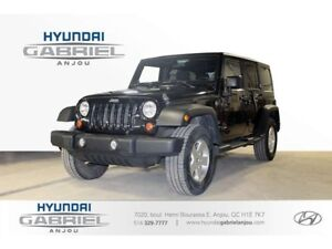 2012 Jeep Wrangler Unlimited Sport DEMAREUR A DISTANCE