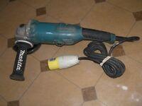 MAKITA GA5021 125mm ANGLE GRINDER 110 volt FOR SALE