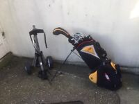 Set of Golf Clubs (Taylormade Irons/Driver and bag)