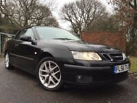 2006 56 SAAB 9-3 2.0 VECTOR T 2d 150 BHP FINANCE SPECIALISTS FROM £70PM GOOD OR BAD CREDIT CAN APPLY