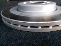 Renault front brake discs NEW