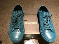Leather Converse, size 4 1/2
