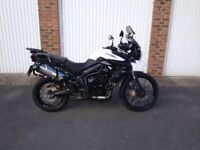 Triumph Tiger XC. Beautiful condition, low miles.