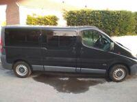 2014 Vauxhall Vivario 9 seats minibus