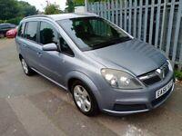 2006 Vauxhall Zafira energy cdti automatic long mot service history 7 seater