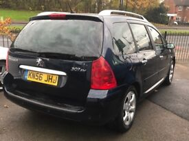 PEUGEOT 307 SW 1.6HDI 110, FULL SERVICE HISTORY, IMMACULATE THROUGHOUT