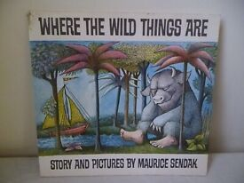 'WHERE THE WILD THINGS ARE',BOOK BY MAURICE SENDAK