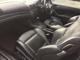 BMW 330CD M SPORT fast fsh turbo rebuild
