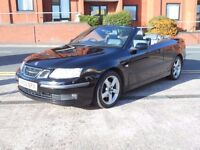 06 SAAB 9-3 CONVERTIBLE 2.0 TURBO CERULEAN SPECIAL EDITION