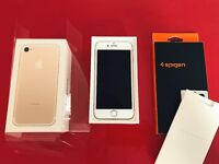 iPhone 7 128GB Gold Unlocked New - with case and with sealing