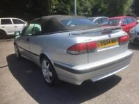 2001 saab 93 se auto convertible dn a 1 nce in a life time 66 k mls bargain
