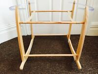 Mamas and papas Moses basket with mattress. Stand available for extra £10