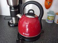 Russel Hobbs red kettle