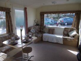 3 bedroom static caravan for sale Devon pet friendly open all year
