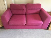 Two-seater sofa (can deliver 18th August AM or it can be picked up before)
