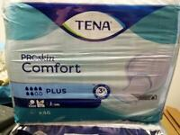 Joblot of 8.packs of TENA Incontinence pads (46 per pack) REDUCED !!