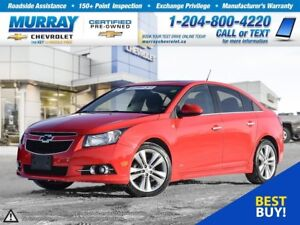 2014 Chevrolet Cruze 2LT *Sunroof, Heated Seats, Rear View Camer