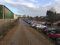 Car storage yard Luton near town centre