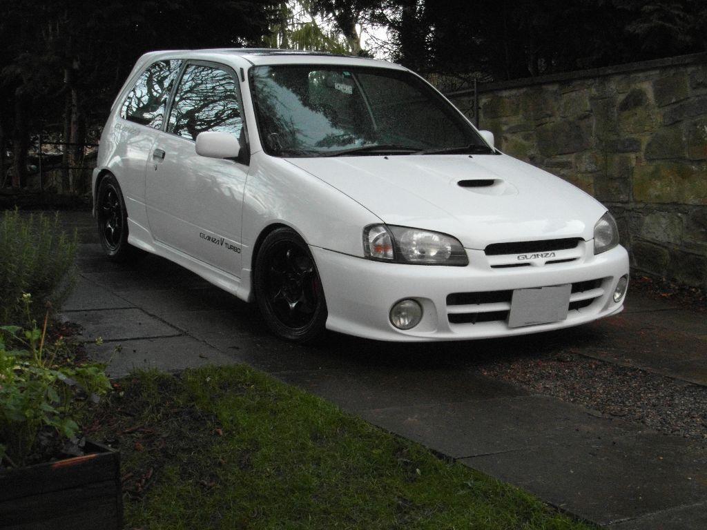 1998 toyota starlet glanza v turbo facelift ep91 in