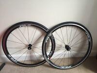Giant P-A2 Aero Race Bike Wheels Front and Back