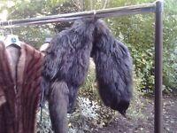 *CHARITY SALE* Vintage fur shawl / stole (10)