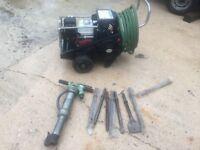 Sullair pac80 breaker Honda engine