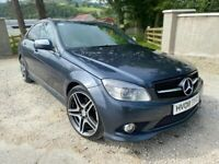 🔥 2008 MERCEDES C320 C350 C CLASS 3.0 V6 CDI DIESEL GREY LOVELY CAR 🔥