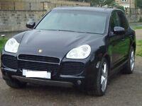 Porsche Cayenne 4.5 Turbo Black SUV 5DR Petrol Triptronic S AWD 4WD 450BHP-MINT