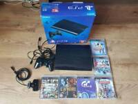 Playstation Ps3 super slim + controller +camera